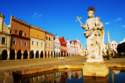 Telc - main square - Zacharias from Hradec